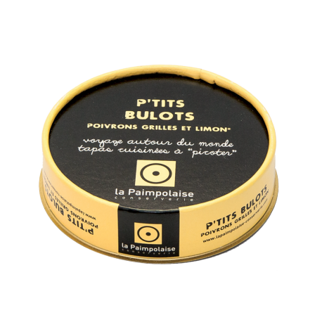 Tapas P'tits Bulots - Poivrons grillés et limon