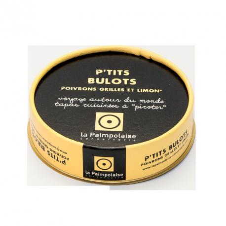 Tapas P'tits Bulots - Poivrons grillés et limon - 100g