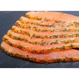 Saumon fumé d'Ecosse - Pré-tranché - 1kg