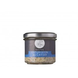 Tartinables d'esturgeon au Caviar - 80g