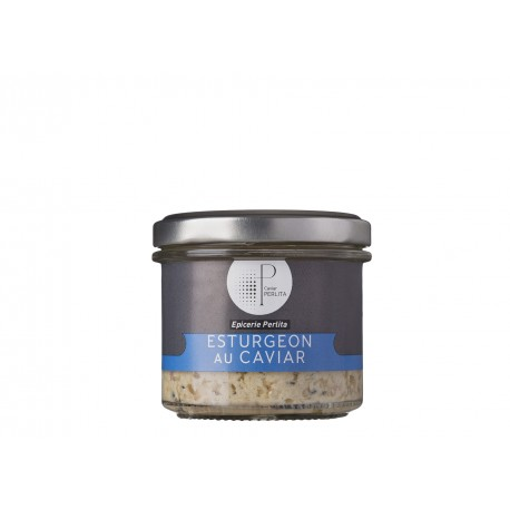 Tartinable d'esturgeon au caviar - 80g