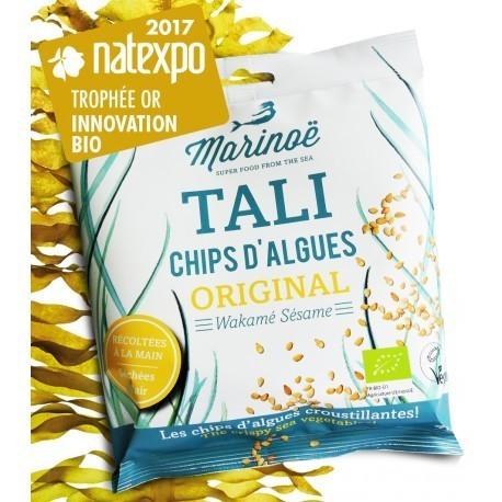 Chips d'Algues - Wakamé Sésame