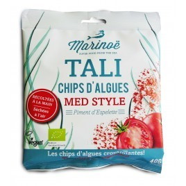 Algae Crisps - Tomato and Espelette pepper