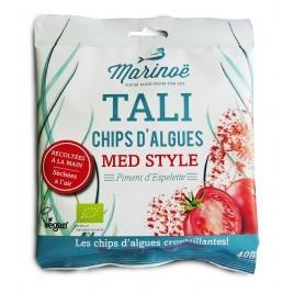 Chips d'Algues - Tomate et piment d'Espelette